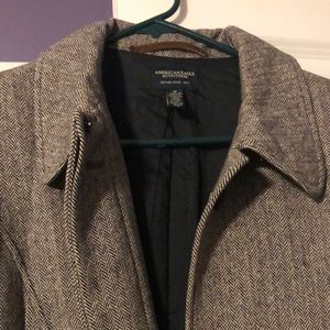 Herringbone AE coat